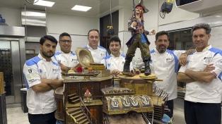 El equipo argentino logró el tercer puesto en la Copa del Mundo de Helado Artesanal