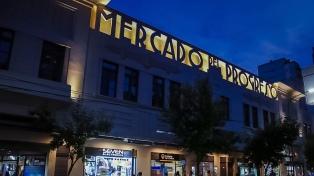 Renovaron la fachada del Mercado del Progreso con el tono original