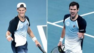 Schwartzman y Pella avanzaron a la tercera ronda del Abierto de Australia