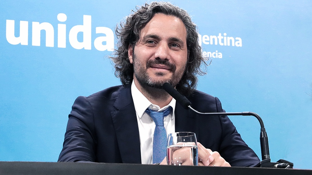 Santiago Cafiero, Jefe de Gabinete Nacional