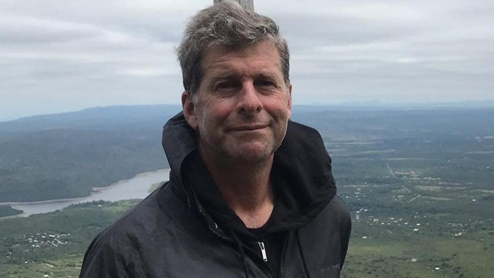 Esteban, excombatiente y actualmente director del Museo Malvinas