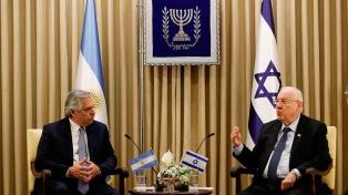 Cincuenta horas en Jerusalén: balance del primer viaje de Fernández al exterior