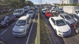 Cierran por obras el empalme de Autopista La Plata-Buenos Aires con la 25 de Mayo