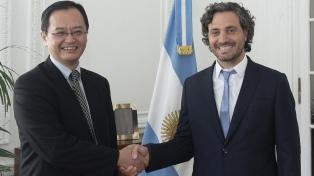 Cafiero recibió al embajador de Japón para analizar la cooperación bilateral