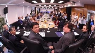 Moroni presidió la presentación del Consejo Federal del Trabajo