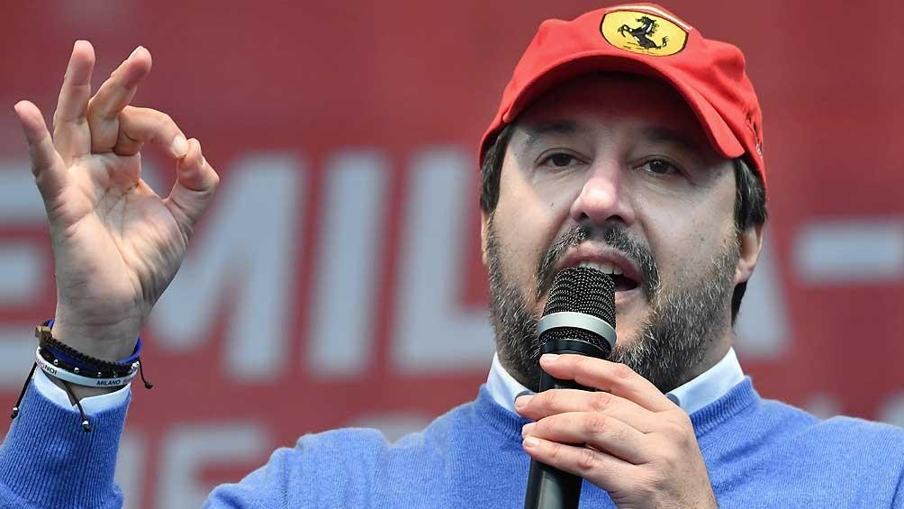 La elección en Toscana es de una importancia tal que Salvini cerrará la campaña de la Liga en la región