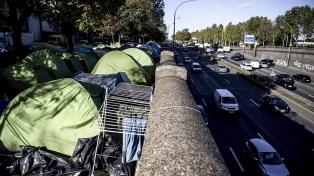 Porte d'Aubervilliers: cómo es vivir en el asentamiento de emergencia más grande de París