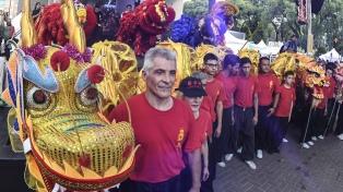 Los festejos del Año Nuevo Chino reunieron a miles de personas en Belgrano