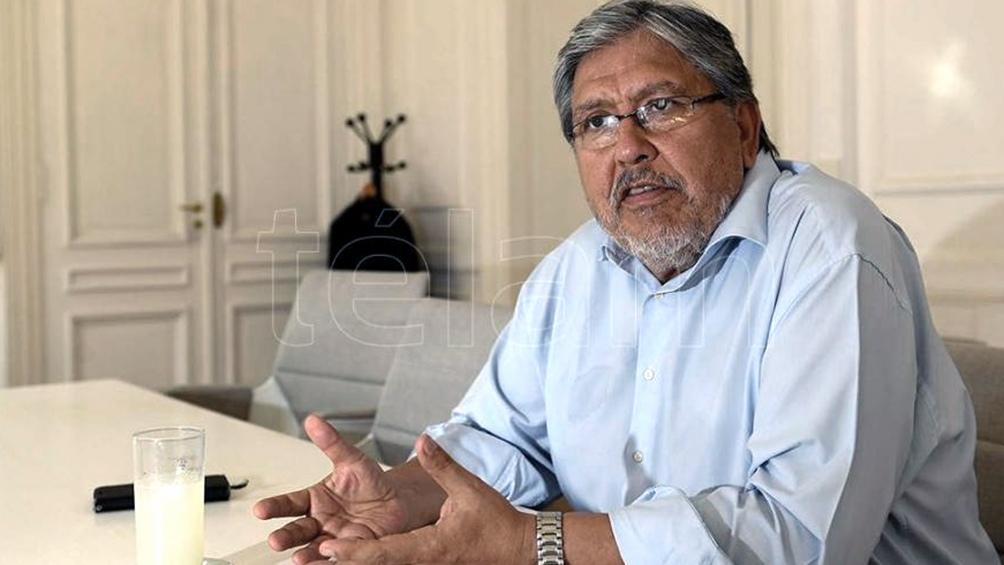 """Fernando """"Chino"""" Navarro, secretario de Relaciones Parlamentarias, Institucionales y con la Sociedad Civil"""