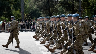 El Poder Ejecutivo dispuso aumentos salariales para el personal militar