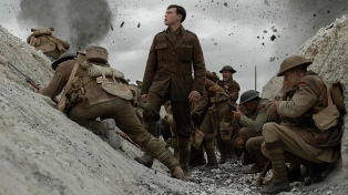 """Llega """"1917"""", el filme bélico que es el gran favorito a quedarse con el Oscar"""