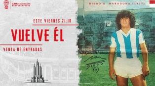 Huracán, con las entradas por las nubes, para recibir a Maradona
