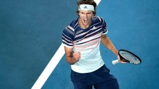 Zverev considera que el receso beneficia más Djokovic, Federer y Nadal