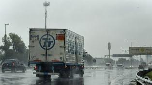 Lluvias en la Ciudad de Buenos Aires y el conurbano