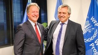 Fernández agradeció el apoyo de la ONU al plan Argentina contra el Hambre