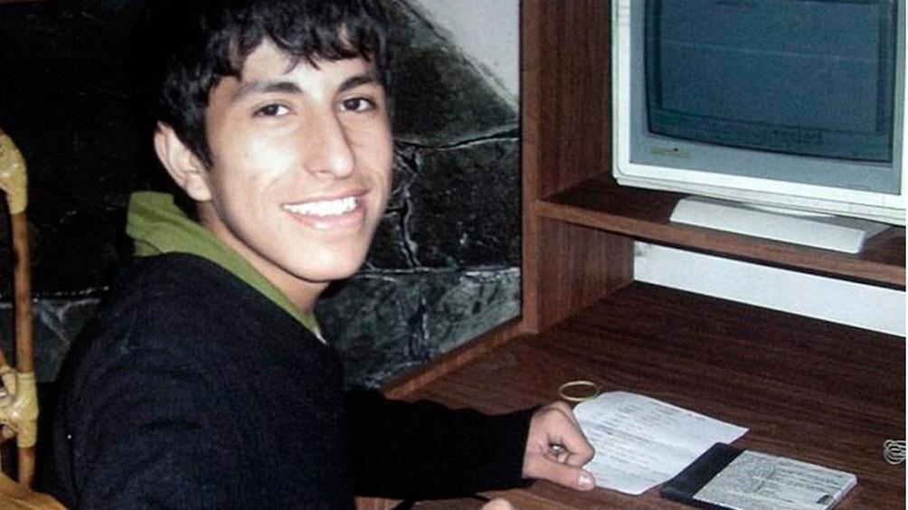 Luciano fue visto por última vez el 31 de enero de 2009 pero su cuerpo fue hallado más de cinco años después.
