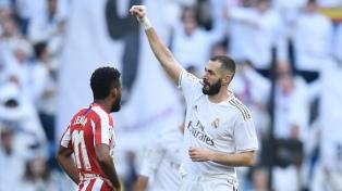 Real Madrid derrotó al Atlético en el clásico de la ciudad