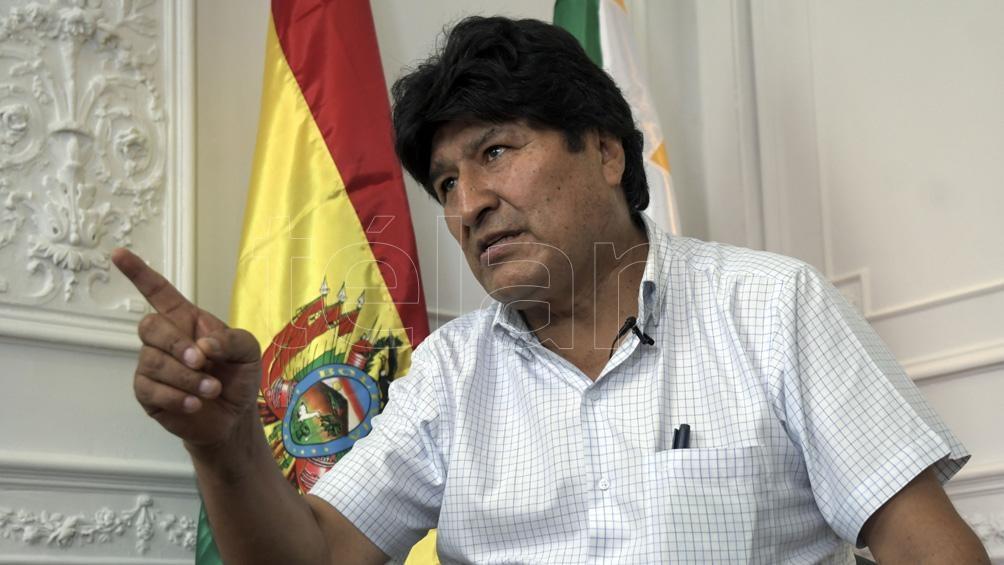 Evo Morales expresó reparos acerca de la transparencia del proceso electoral