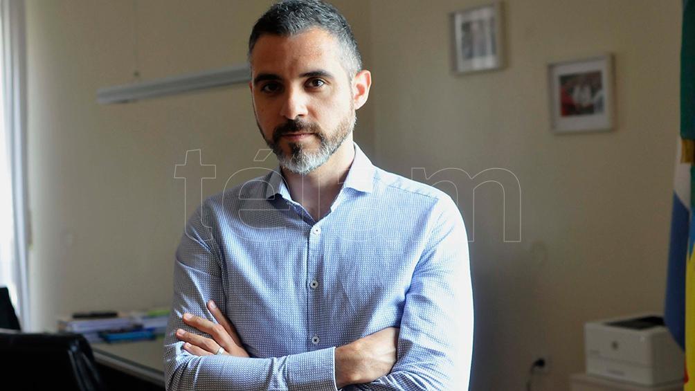 Cristian Girard, director ejecutivo de la Agencia de Recaudación bonaerense.