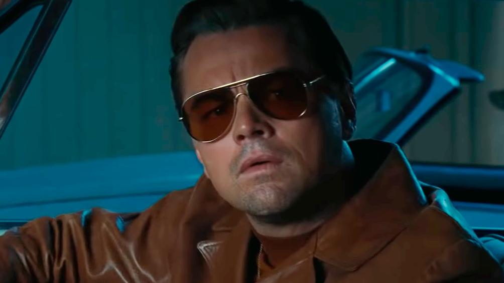 """Leonardo Di Caprio, uno de los protagonistas de """"Érase una vez en Hollywood""""."""
