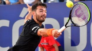 Londero arrancó con éxito la defensa del título en el Córdoba Open de tenis
