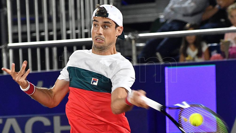 Pella cayó ante el francés Moutet en su debut en el Córdoba Open