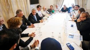 El Presidente se reunió con representantes de organismos de derechos humanos