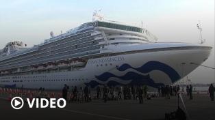 """El argentino con coronavirus en un crucero está """"bien tratado"""", dijo González García"""