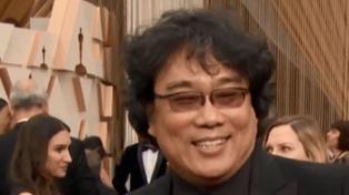 El realizador coreano Bong Joon Ho se llevó el Oscar a Mejor Director