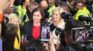 El Sinn Féin fue el partido más votado y tiene serias chances de gobernar