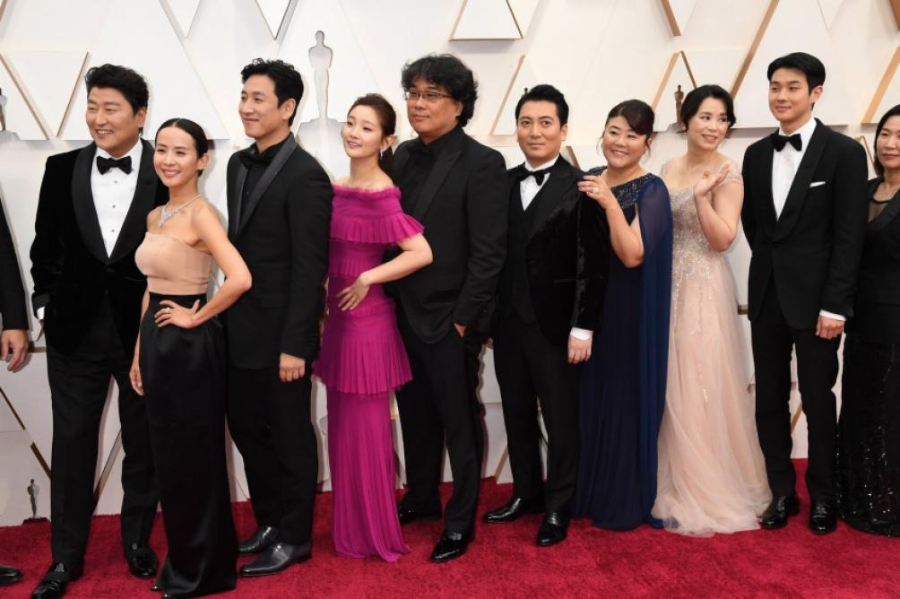 """El elenco de """"Parasite, juntos en 2020"""