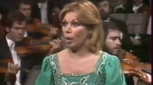 A los 84 años murió la cantante lírica italiana Mirella Freni