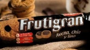 La ANMAT retiró del mercado un lote de galletitas Frutigran