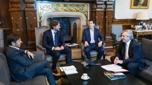 Fernández recibió a Kicillof para repasar los temas que vinculan a la Nación y a la Provincia