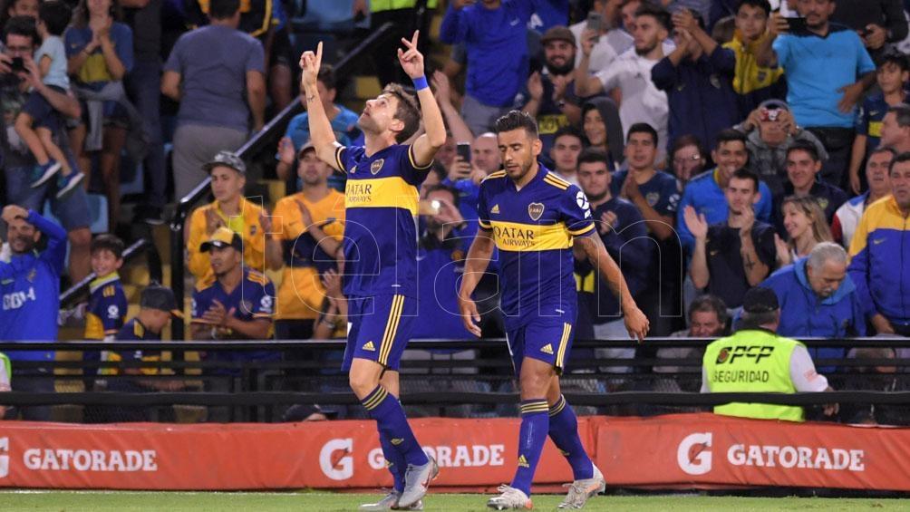 Soldano seguirá en Boca hasta el 30 de junio de 2021 (foto archivo)