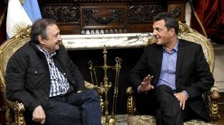 Massa recibió a Ricardo Alfonsín, designado embajador argentino en España