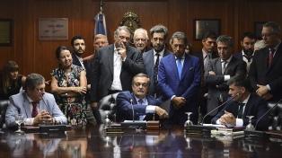 Alberto Lugones se expresó a favor de ampliar el Consejo de la Magistratura