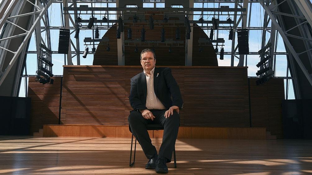El ministro de Cultura de la Nación, Tristán Bauer, adelantó que en enero reabrirá Tecnópolis.