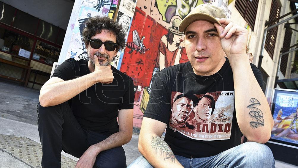 Gaspar Benegas y Pablo Sbaraglia.