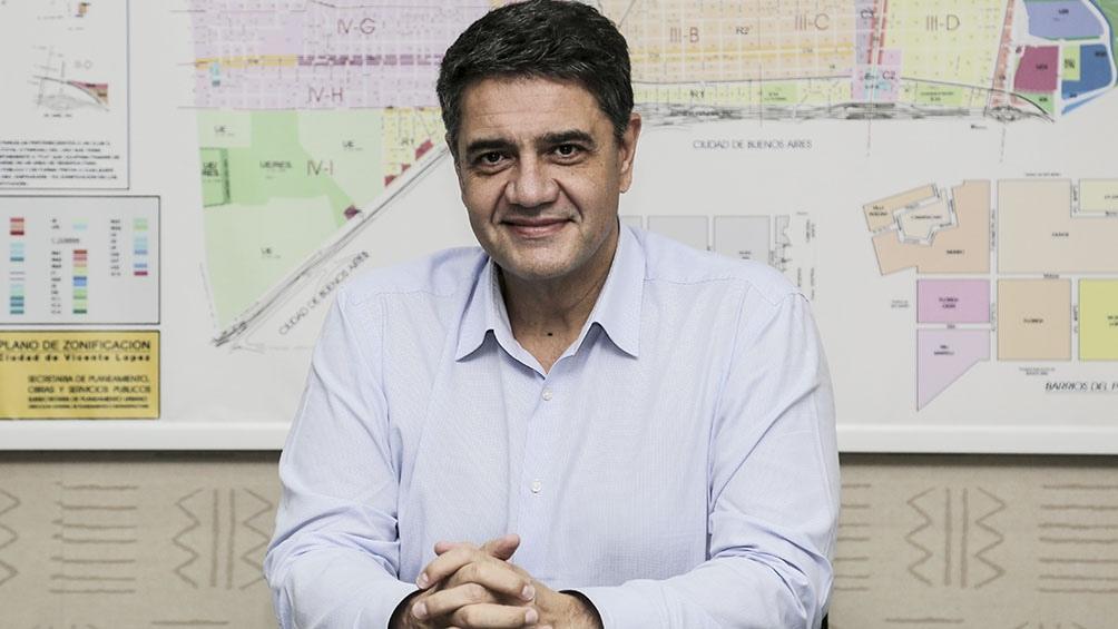 """Según el intendente, durante la gestión de Mauricio Macri y de Eugenia Vidal """"se avanzó con mucha presencia policial""""."""