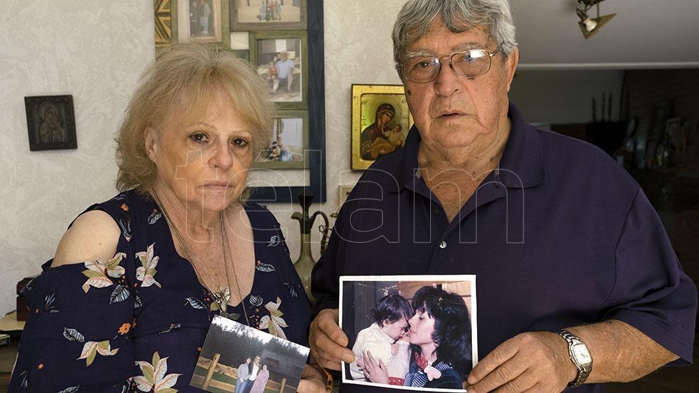 Beatriz y Jorge Taddei, los padres de Wanda.