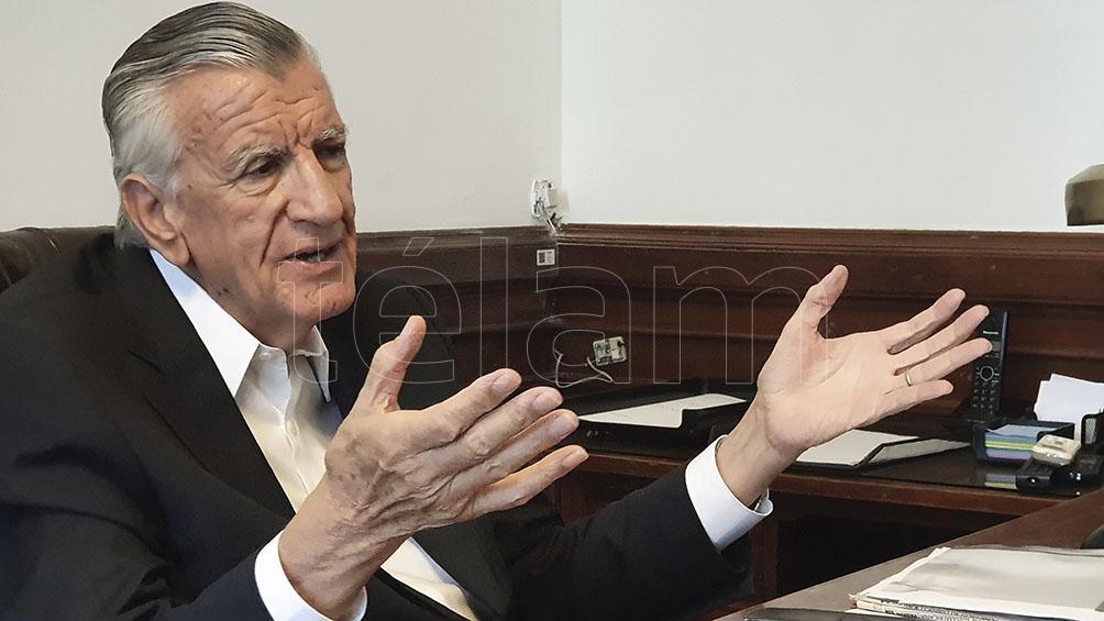 El ex gobernador de San Juan, crítico con el ex presidente Macri.