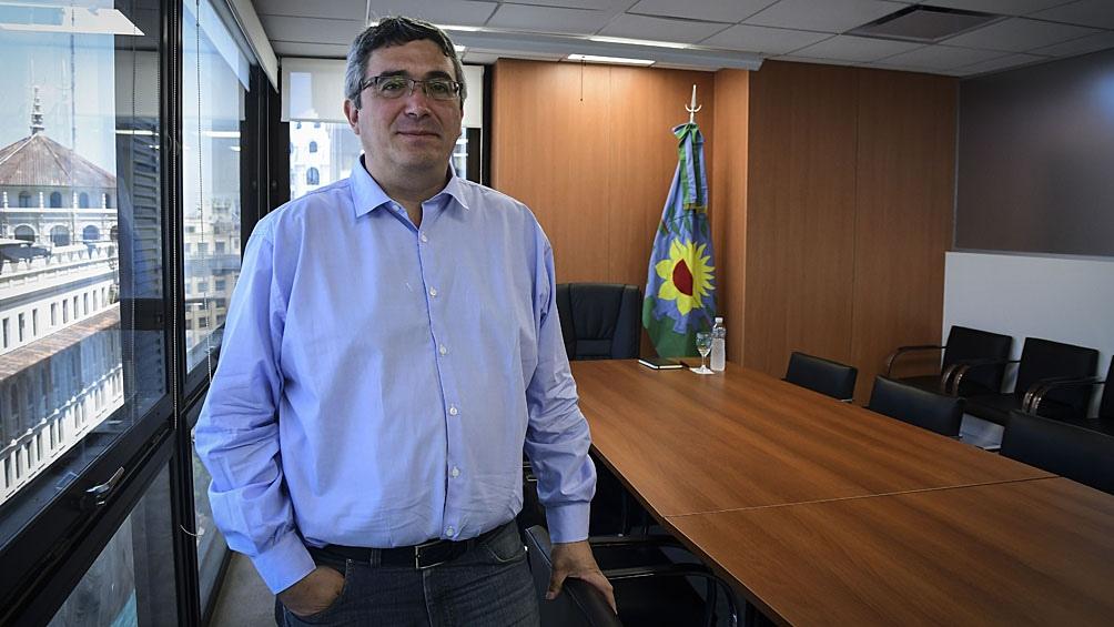 Javier Rodríguez, ministro de Desarrollo Agrario bonaerense