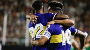 Boca goleó en Santiago del Estero y sigue en la lucha