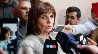 "Patricia Bullrich: ""El PRO no convoca a la marcha del lunes, pero voy a ir sin romper ninguna regla"""
