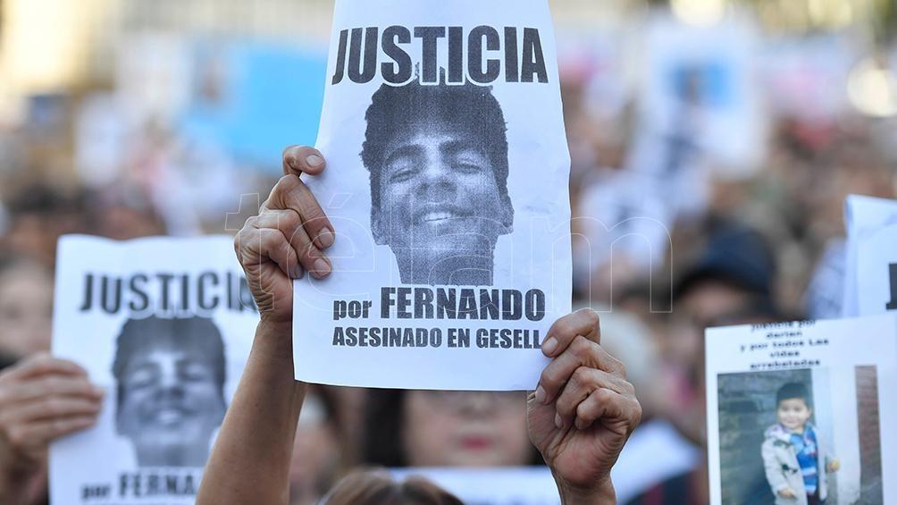 El crimen de Fernando (18) ocurrió la madrugada del 18 de enero pasado, cuando fue atacado a patadas y trompadas.