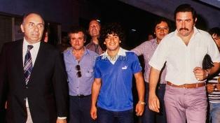 Maradona y la noche que jugó para dos equipos