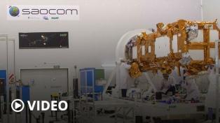 Bariloche despidió al SAOCOM 1B que parte hacia EEUU para su lanzamiento