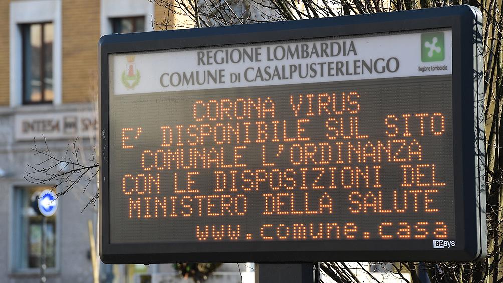 Italia: admiten que es verosímil que haya 600.000 contagiados y no los 60.000 oficiales