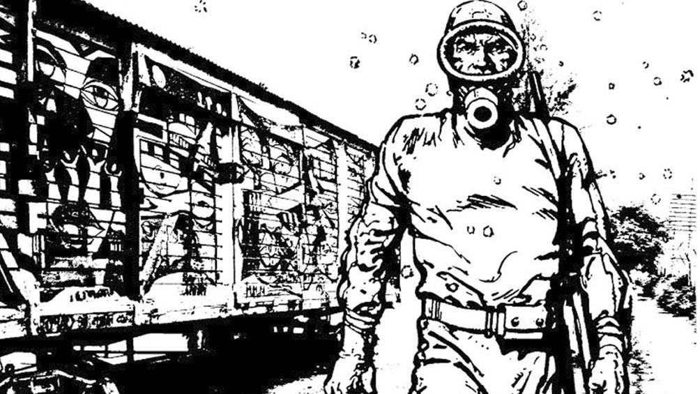 La omnipresente figura de  Héctor Germán Oesterheld en su  Eternauta: una voz inmutable que siempre  llama a resistir.